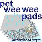 20 Extra Large 150x80cm Puppy Pet Toilet Training Wee Pads Unscented
