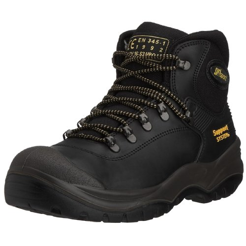 Grisport Men's Contractor Safety Boot Black AMG001 7 UK