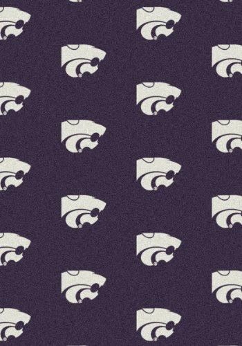Kansas State Wildcats NCAA Milliken Team Repeat Area Rug (10'9