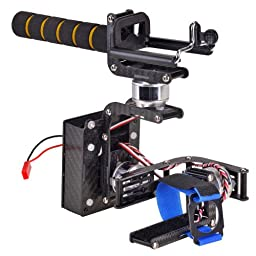 Emgreat 3-axis Handheld Brushless Gimbal Self-stabilization FPV Camera Mount Complete Set for Gopro Hero 2 3