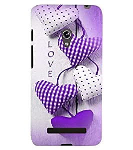 PRINTSWAG LOVE PILLOWS Designer Back Cover Case for ASUS ZENFONE 5 A501CG