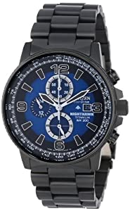 "Citizen Men's CA0505-57L  Eco-Drive Titanium ""Nighthawk"" Chronograph Watch"