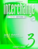 Interchange Students Book 3 with Audio CD (Interchange Third Edition)