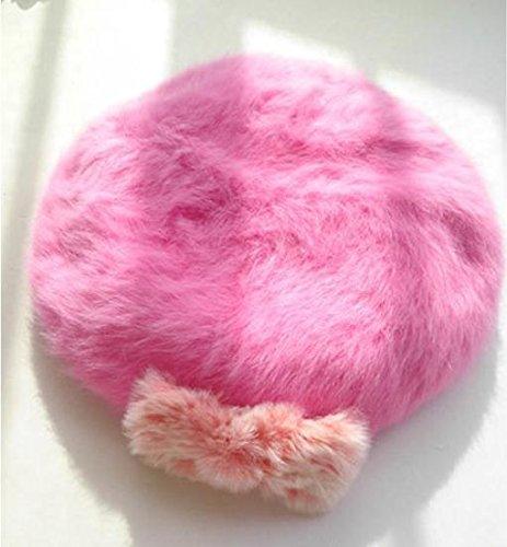 donna-autunno-inverno-semplicita-faux-fur-stretch-hat-accogliente-beret-caldo-con-ear-flaps-arco-dec