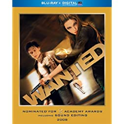 Wanted (Blu-ray + Digital with UltraViolet)