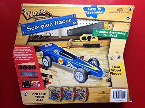 Woodshop Racers ~ Made From Real Pine ~ Turbo Racer - 1