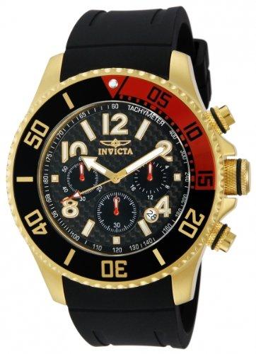 Invicta Men S 13729 Pro Diver Chronograph Black Carbon