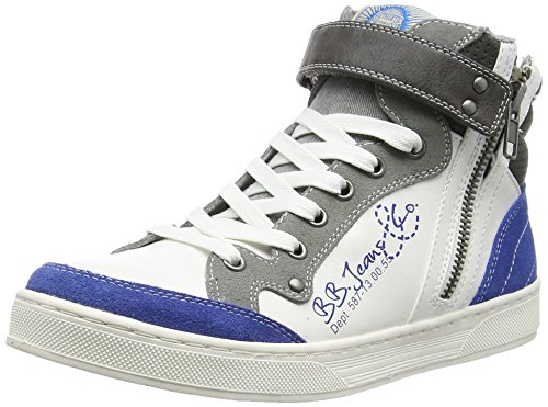 BULLBOXERAEFF5S530 - Scarpe da Basket Bambino , Blu (Blau (BLGY)), 37
