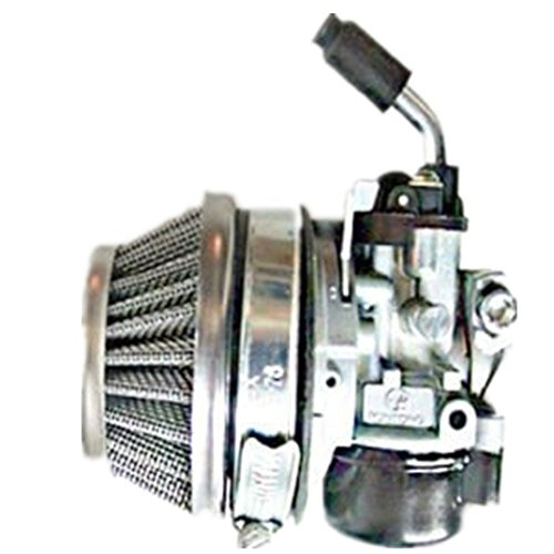 Qiankun 49cc 66cc 70cc 80cc 2 Stroke Engine Motorized Bicycle Bike Carb Racin Carburetor (silver) (2 Stroke 18 Mm Carburetor compare prices)