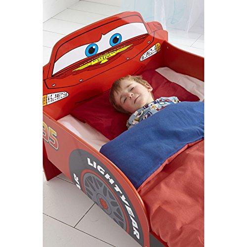 Disney Cars Lightning McQueen SnuggleTime Lit d'enfant en bas âge