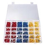 Darius 480 Pcs Premium Quality Assorted Insulated Electrical Wire Terminals Crimp Connectors Spade Set