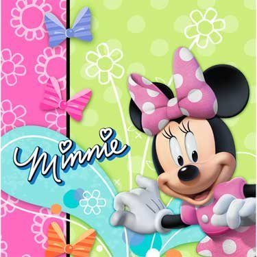 Minnie Mouse 'Bow-Tique' Lunch Napkins (16ct)