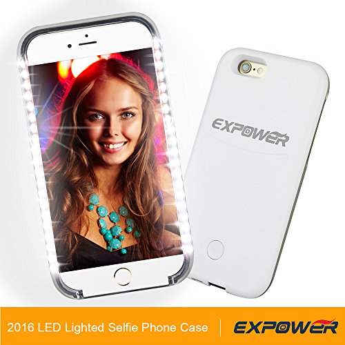 urcover cover luce selfie light case iphone pc led