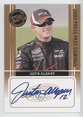 Amazon.com: Justin Allgaier (Trading Card) 2009 Press Pass