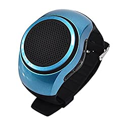 LIFE LIKE B20 BLUETOOTH SMARTWATCH WITH TF CARD SUPPORT - BLUE