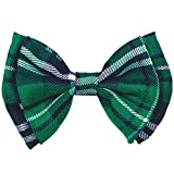 "Amscan St. Patrick's Day Plaid Bow Tie Costume Party Accessory (1 Piece), Green, 3 1/2"" x 5"""