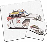 Personalised Koolart Ghostbusters Film Car Glass Table Mat Set
