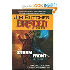 Jim Butcher's The Dresden Files: Storm Front Volume 2 - Maelstrom HC (Dresden Files (Dynamite Hardcover)) by Jim Butcher,&#32;Mark Powers and Ardian Syaf