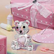 Choice Crystal Collection Teddy Bear Figurine-PINK, 1