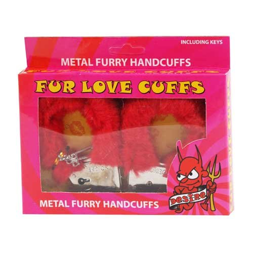 Furry Handcuffs Love Cuffs Hen Night Valentines