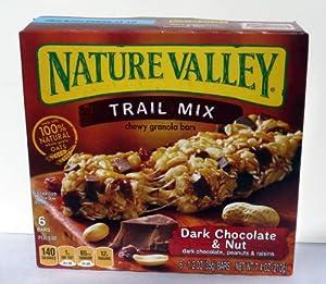 Amazon.com: Nature Valley Trail Mix Chewy Granola Bars - Dark ...