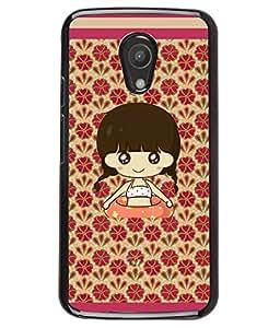 Fuson 2D Printed Girly Designer back case cover for Motorola Moto G2 - D4323