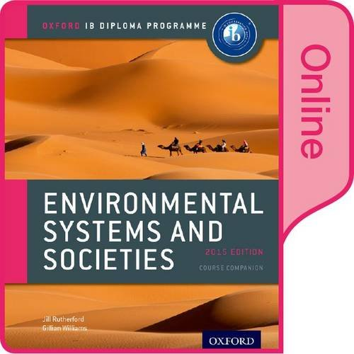 IB Environmental Systems and Societies Online Course Book: O