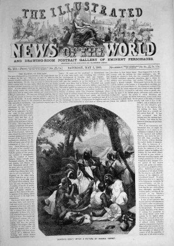 Stampa Religiosa 1860 di Arti di Vernet del Cappotto di Joseph