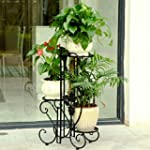 Porte plantes d�coratif en fer forg�...