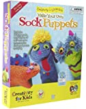 Creativitiy for Kids - Make Your Own Sock Puppets Kit - Educational Toys
