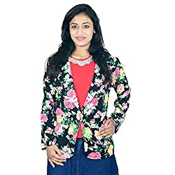 Shopaholic Fashion shopaholic special floral printed jacket