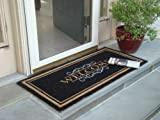 Printed Coco Coir Doormat Elegant Welcome Design 22