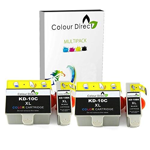 colour-direct-2-sets-compatibile-cartucce-dinchiostro-sostituzione-per-kodak-10b-10c-easyshare-esp-3