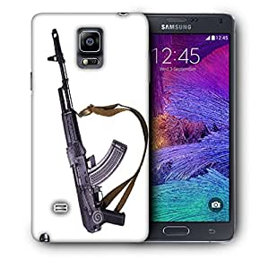 Snoogg Big Gun Designer Protective Back Case Cover For SAMSUNG Galaxy NOTE 4