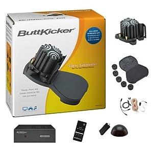 ButtKicker BKA300 Wireless Home Theater Kit with ButtKicker Advance and Power Amplifier