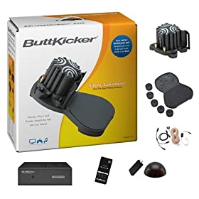 ButtKicker BKA300 Wireless Home Theater Kit with ButtKicker Advance and Power Amplifier