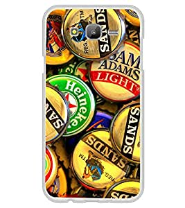 Bottle Caps 2D Hard Polycarbonate Designer Back Case Cover for Samsung Galaxy On7 G600FY :: Samsung Galaxy On 7 (2015)