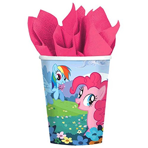 American Greetings My Little Pony Paper Cups Party Supplies (8 Count), 9 oz.