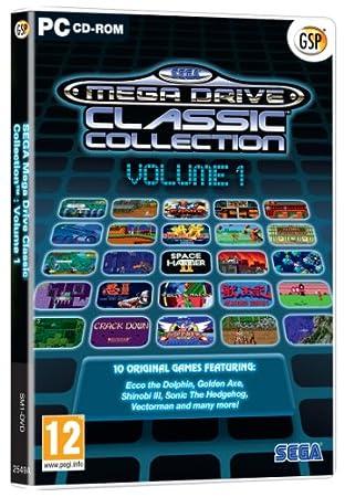 SEGA MegaDrive Collection 1 (PC DVD)