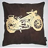Which Kraft Leather Bike Cushion Cover- Brown, 40.64 Cm X 40.64 Cm