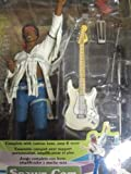 Jimi Hendrix Woodstock Festival Action Figure with Guitar and Amps By Mcfarlane