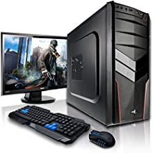 """Megaport Super Méga Pack - Pack Complet X91 Hydra • Asus VS228NE Ecran LED 22"""" • Claviers de jeu et Souris • Processeur AMD FX-4300 4x3.8Ghz • NVIDIA GeForce GT740 2048 Mo • Mémoire 8Go • Stockage 1000Go • Windows 7 Pro 64 • WiFi • Lecteur de DVD"""