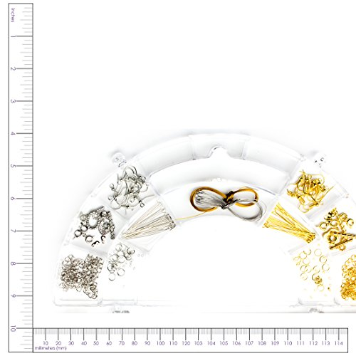 Cousin-Precious-Accents-Jewelry-Findings-Collection-158Pkg-Silver-and-Gold