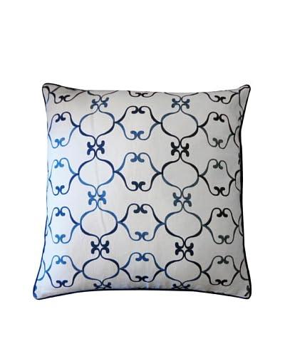 Gaudi Throw Pillow, Blue As You See