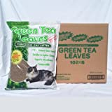 Green Tea Leaves Cat Litter Case (6 X 6 Lbs. Bags)