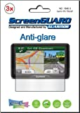"3x Garmin Nuvi 2797 2797LT 2797LM 2797LMT 7"" GPS Premium Anti-Glare Anti-Fingerprint Matte Finishing LCD Screen Protector Cover Guard Shield Protective Film Kits (Package by GUARMOR)"