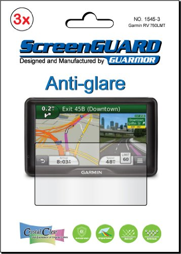 "3X Garmin Nuvi 2797 2797Lt 2797Lm 2797Lmt 7"" Gps Premium Anti-Glare Anti-Fingerprint Matte Finishing Lcd Screen Protector Cover Guard Shield Protective Film Kits (Package By Guarmor)"