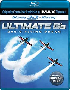 IMAX Ultimate G's: Zac's Flying Dream [Blu-ray 3D + Blu-ray]
