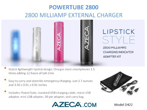 Azeca 2800mAh Power Bank
