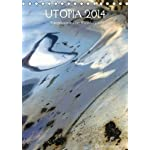 UTOPIA 2014 / AT-Version / Planer (Tischkalender 2014 DIN A5 hoch): Spiegelungen im Stahlblech einer Skulptur (Tischkalender, 14 Seiten)